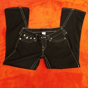 True Religion Joey Black Jeans...size 28